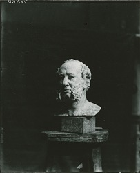William H. Vanderbilt [sculpture] / (photographed by Peter A. Juley & Son)