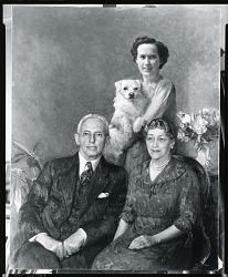 Portrait Group [painting] / (photographed by Peter A. Juley & Son)