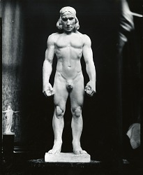 American Indian [sculpture] / (photographed by Peter A. Juley & Son)