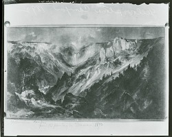 Yellowstone Canyon [painting] / (photographed by Peter A. Juley & Son)