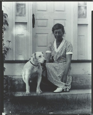 Gertrude Fiske [photograph] / (photographed by Peter A. Juley & Son)