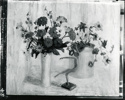 Flowers #6 [painting] / (photographed by Peter A. Juley & Son)