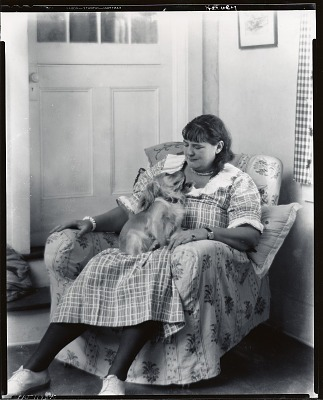 Wilna Hervey, Woodstock, New York [photograph] / (photographed by Peter A. Juley & Son)