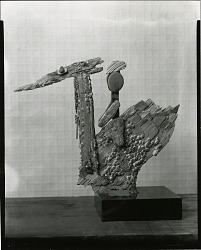 Child Riding Bird [sculpture] / (photographed by Peter A. Juley & Son)