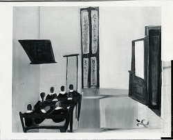 School Room [painting] / (photographed by Peter A. Juley & Son)