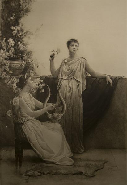 Image for Song of Love, photomechanical print
