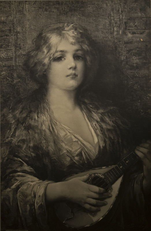 Image for The Old Love Song, photomechanical print