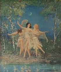 Dance au Clair de Lune, [photomechanical print]
