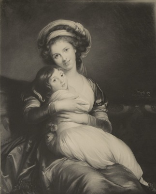 Madame LeBrun and Daughter, [photomechanical print]