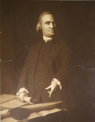 Samuel Adams, [photomechanical print]