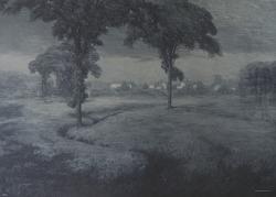 Misty Moonlight Night, [photomechanical print]