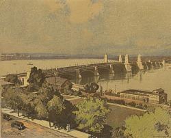 Longfellow Bridge [photomechanical print]
