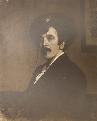 James McNeill Whistler [photomechanical print]