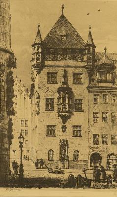 Nassau Haus, Nuremberg [photomechanical print]