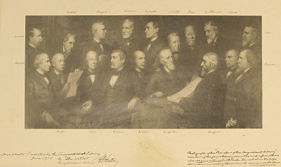 Promoters of the Congressional Library [photomechanical print]