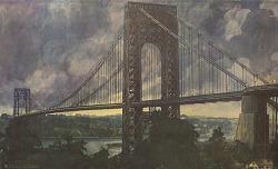 George Washington Bridge [photomechanical print]