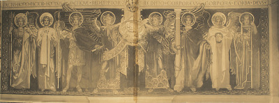 The Frieze of the Angels [photomechanical print]