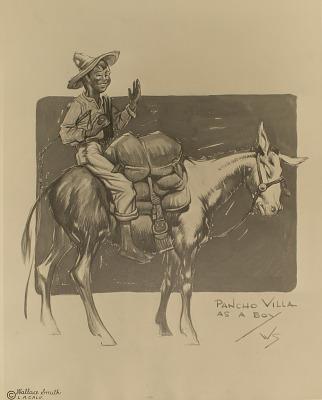 Pancho Villa as a Boy [photomechanical print]