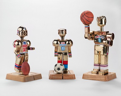 Sports robot toy,