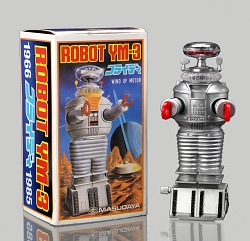 Wind-up toy (Robot YM-3) with original box