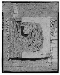 Wall Hanging [decorative arts] / (photographed by Walter Rosenblum)