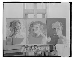 Three Portraits [painting] / (photographed by Walter Rosenblum)