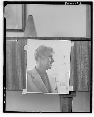 Burgoyne Diller [photograph] / (photographed by Walter Rosenblum)