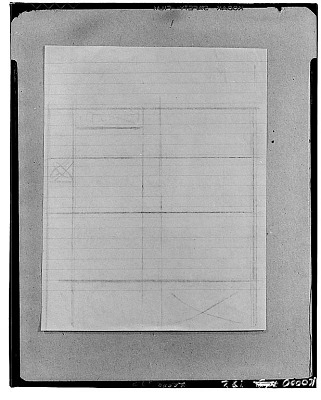 Study for a Composition [sketch] / (photographed by Walter Rosenblum)
