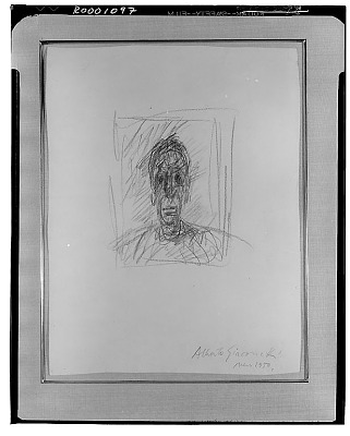 Head of Diego [drawing] / (photographed by Walter Rosenblum)