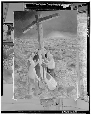 The Cross, [graphic arts] / (photographed by Walter Rosenblum)