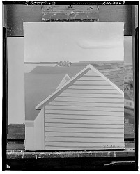 No Title Given: Exterior of a House, [art work] / (photographed by Walter Rosenblum)