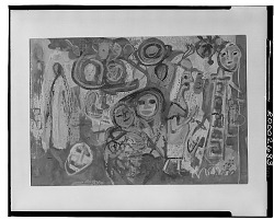 Untitled [painting] / (photographed by Walter Rosenblum)