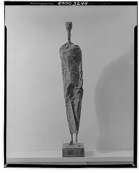 Abstract Figure [sculpture] / (photographed by Walter Rosenblum)