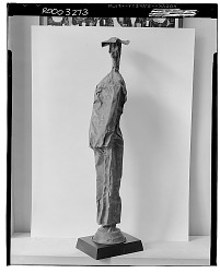 Woman in a Hat [sculpture] / (photographed by Walter Rosenblum)