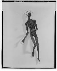 Figure with Halo [sculpture] / (photographed by Walter Rosenblum)