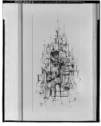Abstract Architecture [drawing] / (photographed by Walter Rosenblum)