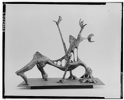No Title Given: Reaching Hands [sculpture] / (photographed by Walter Rosenblum)