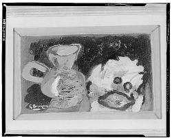 No Title Given: Still Life with Pitcher, [art work] / (photographed by Walter Rosenblum)