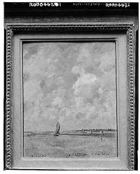 No Title Given: Coastal Scene, [art work] / (photographed by Walter Rosenblum)