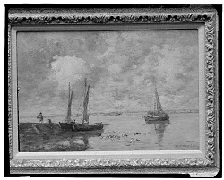 No Title Given: Sailboats, [art work] / (photographed by Walter Rosenblum)