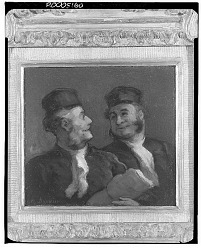 Two Lawyers [painting] / (photographed by Walter Rosenblum)