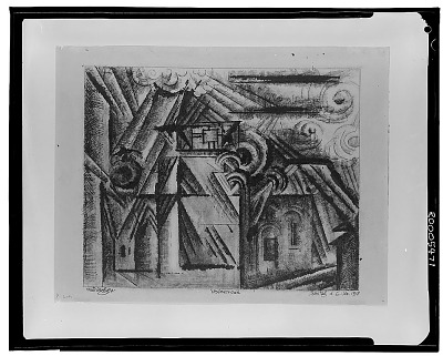 Vollersroda [drawing] / (photographed by Walter Rosenblum)