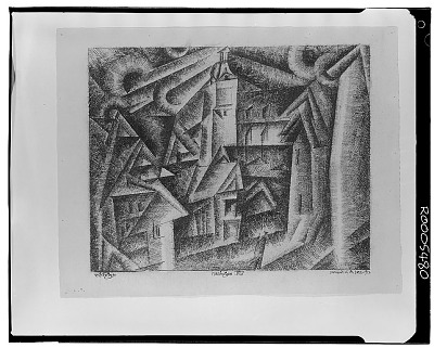 Mellingen VIII [drawing] / (photographed by Walter Rosenblum)