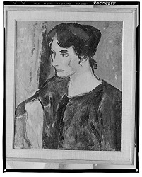 Portrait [painting] / (photographed by Walter Rosenblum)