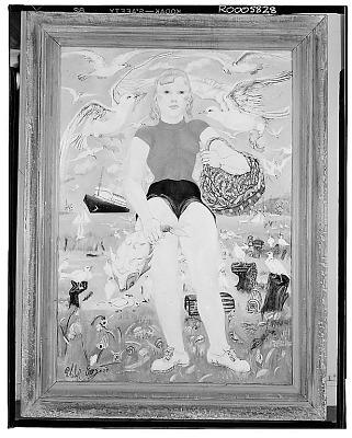 American Shrimp Girl [painting] / (photographed by Walter Rosenblum)