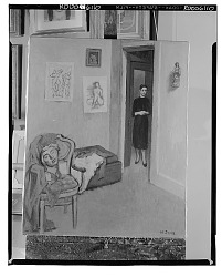 Figure in Interior [art work] / (photographed by Walter Rosenblum)