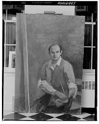 Self Portrait [painting] / (photographed by Walter Rosenblum)