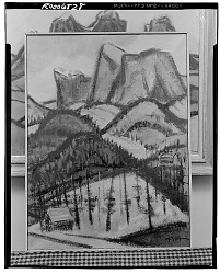 Mountain Landscape [painting] / (photographed by Walter Rosenblum)