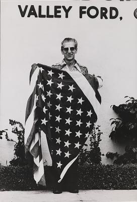 Running Fence, Sonoma and Marin Counties, California, 1972-76, Postmaster David Bordessa
