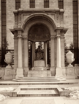 William Cullen Bryant Memorial [sculpture] / (photographer unknown)